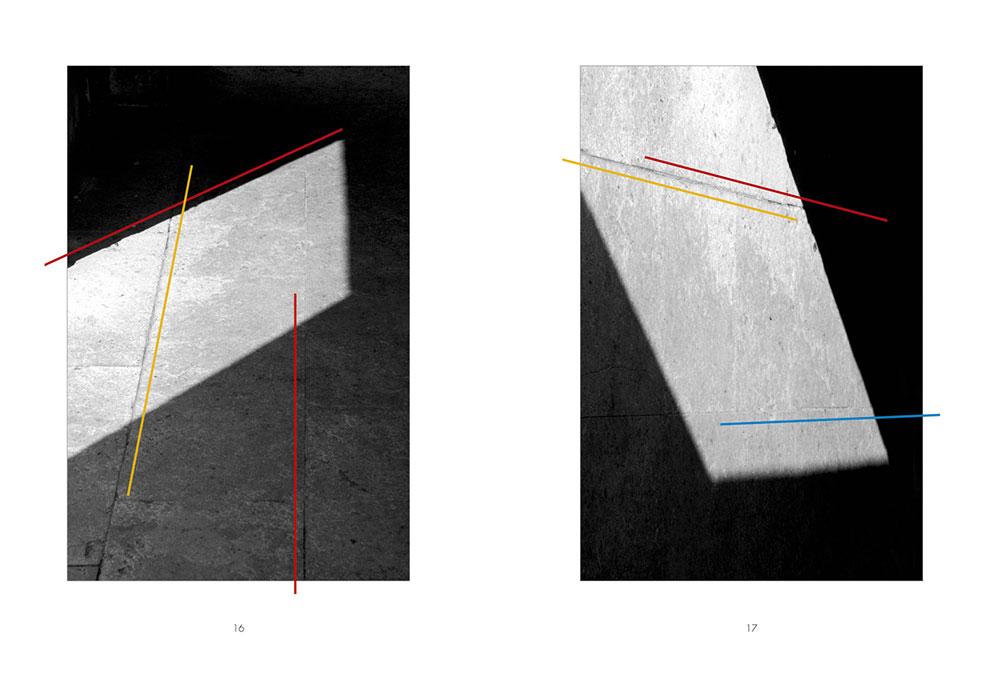 Volker Noth, Eigene Bücher, Schatten. Linien und 4 Farben